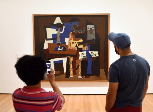 KI enthüllt verborgenes Picasso-Gemälde