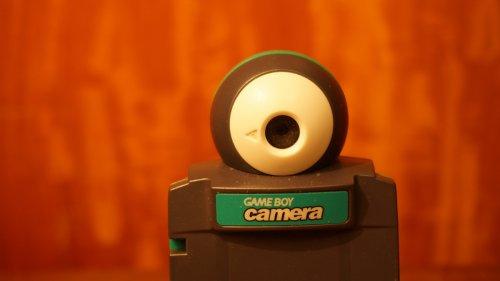 Richtig retro: Mit der Gameboy-Kamera ins Zoom-Meeting