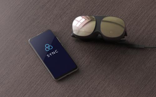 """HTC Vive stellt besonders leichte Wellness-VR-Brille """"Flow"""" vor"""
