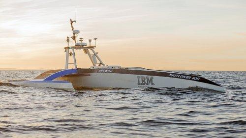 Kapitän KI: Autonomes Schiff soll ganz alleine den Atlantik überqueren