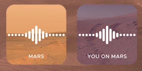 Mars-Rover: Neue Aufnahmen zeigen die Sound-Kulisse auf dem roten Planeten