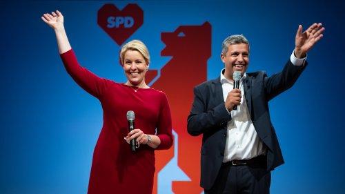 SPD gewinnt Wahlkrimi in Berlin