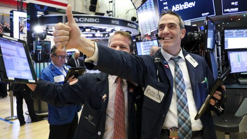 Wall Street bleibt im Rekordrausch