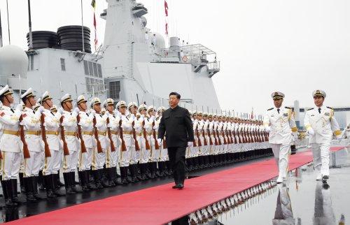 China trumpft auf, weil es kann
