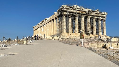 Zementplatten bis zum Parthenon