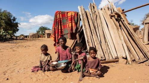 Dürre, Terror, Flucht - und der Hunger