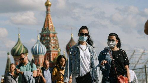 Moskau geht wieder in den Lockdown