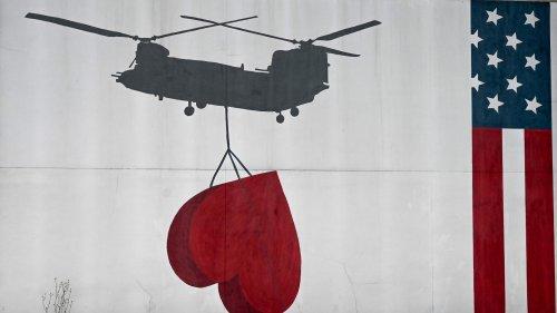 Afghanische Helfer in die USA geflogen