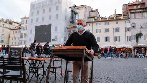 Italien lockert Beschränkungen