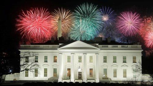++ Spektakuläres Feuerwerk in Washington ++
