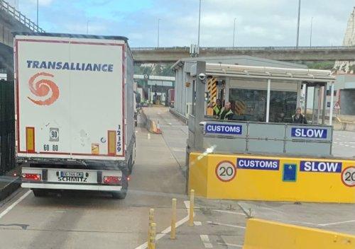 Was Lkw-Fahrer nach dem Brexit erleben
