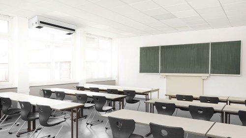 Luftfilter nicht in allen Klassenzimmern
