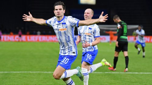 Hertha gewinnt trotz Rückstands gegen Fürth