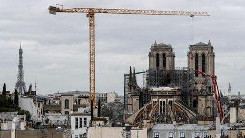 Wie weit ist der Wiederaufbau von Notre-Dame?