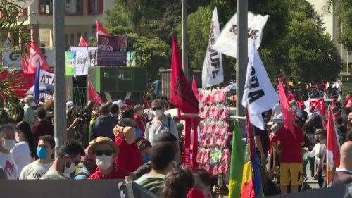 ++ Demos gegen Bolsonaros Krisenpolitik ++