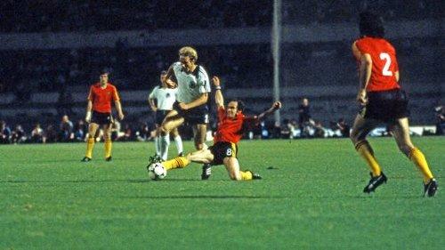Wilfried van Moer führte Belgien ins Finale der EM 1980