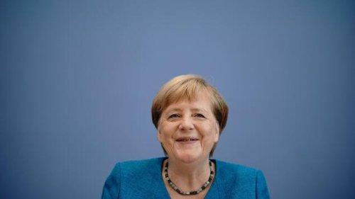 Merkel sieht dem Machtwechsel im Kanzleramt entspannt entgegen