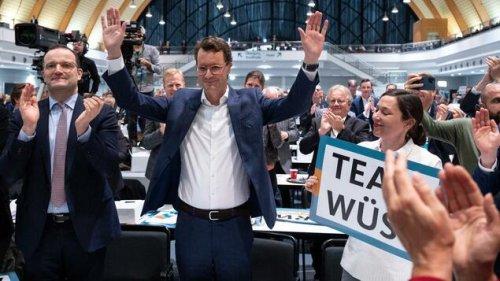 Hendrik Wüst neuer CDU-Landesvorsitzender