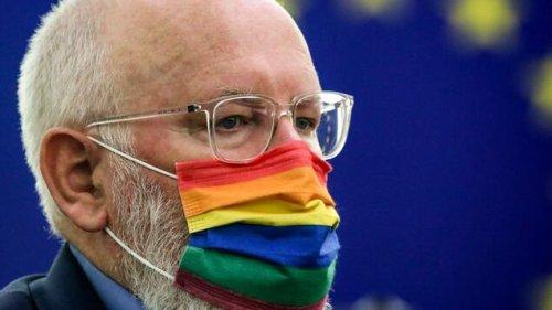 EU-Kommissionsvize Timmermans stärkt Scholz den Rücken