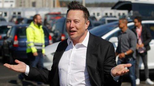 Tesla-Chef Musk spricht vor VW-Spitzenfunktionären