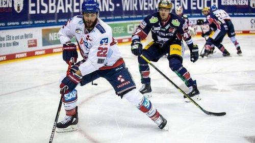 Eisbären verlieren 1:3 gegen Mannheim