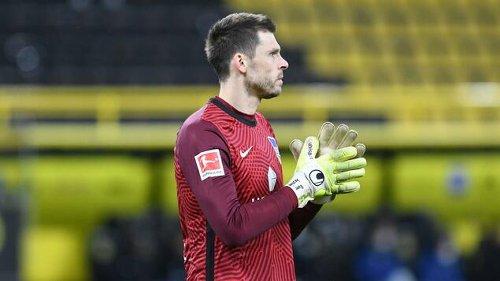 Rune Jarstein ist gegen Mainz 05 noch keine Option
