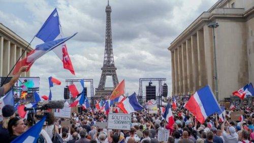 160.000 Teilnehmer bei Corona-Protesten in Frankreich