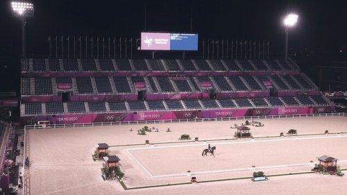 Ohne Zuschauer stehen Athleten und Pferde vor einer besonderen Herausforderung
