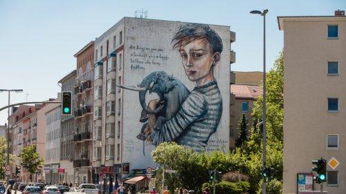 Kritik am Berlin Mural Fest wegen Kooperation mit Deutsche Wohnen