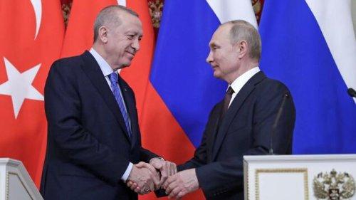 Erdogan sucht Putins Nähe
