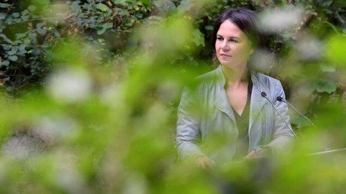 Annalena Baerbock sieht Brandenburg vor lauter Bäumen nicht