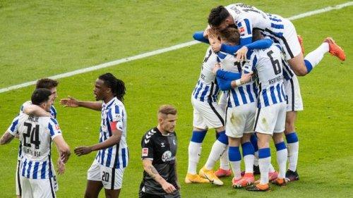 Hertha verlässt die Abstiegsränge