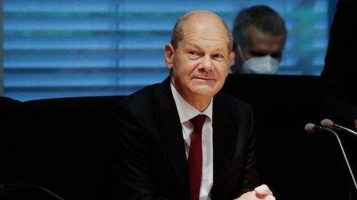 Scholz stellt sich Fragen im Ausschuss zu Geldwäsche-Ermittlungen