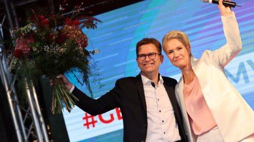 SPD gewinnt Wahl in Mecklenburg-Vorpommern klar