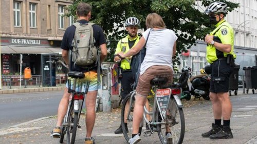 Berliner Polizei ertappt 700 Verkehrssünder in einer Woche