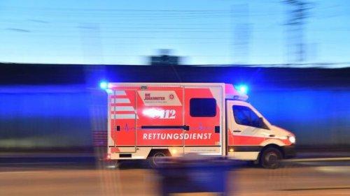 Eine Verletzte bei schwerem Autounfall im Wedding