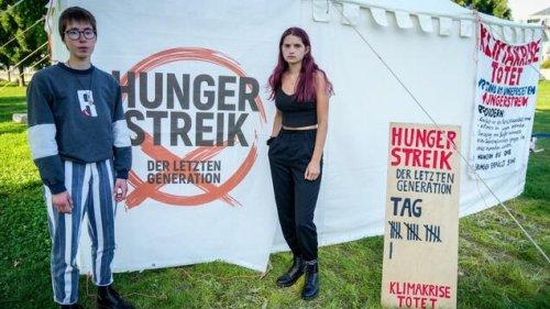 Hungerstreik fürs Klima – Junge Frau in Klinik