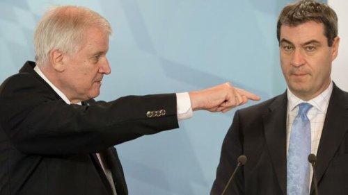 Seehofer glaubt, dass die Union auch mit Söder verloren hätte