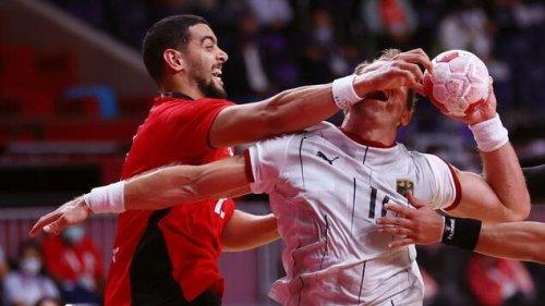 Deutsche Handballer tun sich schwer gegen Ägytpen