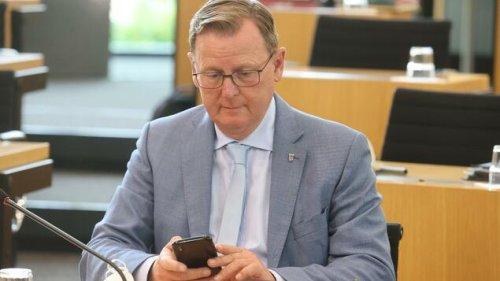 Bodo Ramelow bleibt Ministerpräsident von Thüringen
