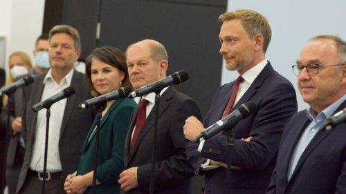 Koalitionsverhandlungen beginnen Donnerstagnachmittag