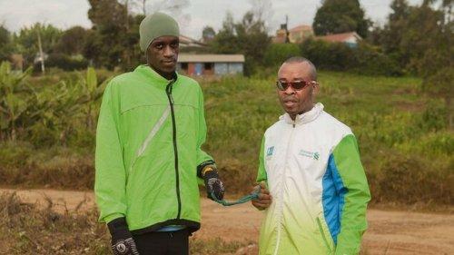 Henry Wanyoike bereitet sich auf den Berlin-Marathon vor