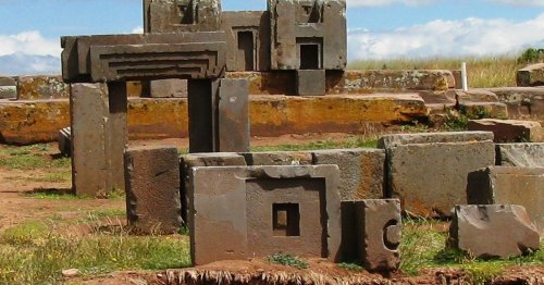 People of the Tiahuanaco civilization engineered their own rocks to build temples and monuments