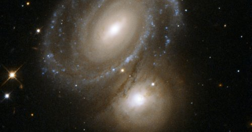 """A """"strange, giant"""" galaxy is breaking all the rules"""