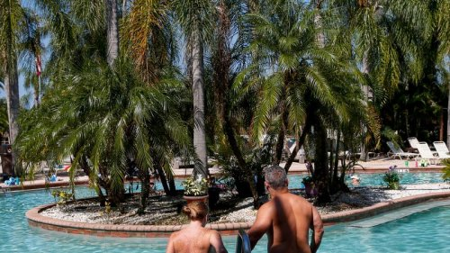 """Nudists flock to Pasco as """"nakations"""" boom despite the pandemic"""