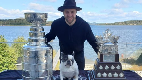 Lightning's Victor Hedman celebrates day with Stanley Cup in Sweden