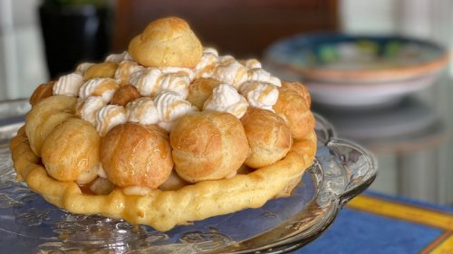 For Mother's Day, make a Gateau St. Honore instead