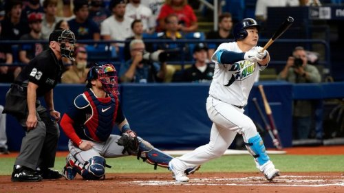 Rays beat Red Sox again, take over first place in AL East