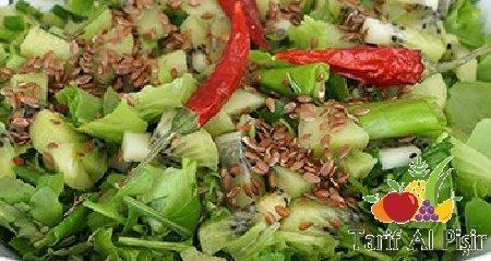Metabolizmayı Hızlandıran Salata Tarifi -/- TarifAlPisir.com