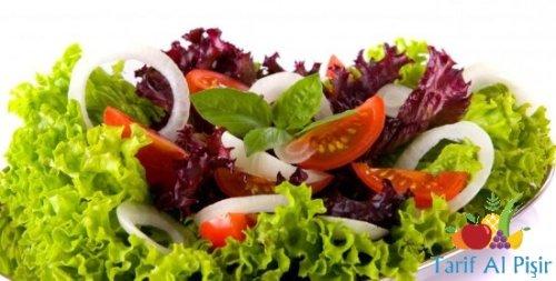Salata Yapmanın Püf Noktaları -/- Salata Yaparken Nelere Dikkat Edilir?